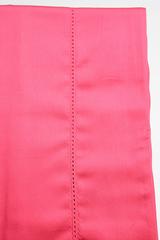Наволочки 2шт 70x70 Caleffi Raso Tinta Unito ярко-розовые