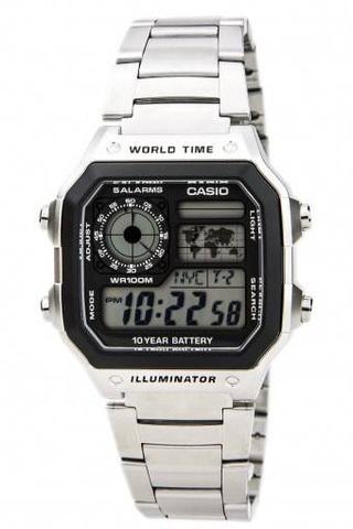 Купить Наручные часы Casio AE-1200WHD-1A по доступной цене