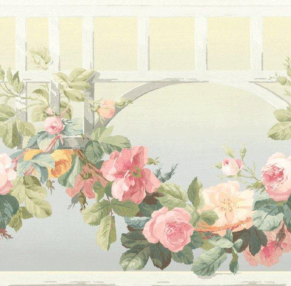 Бордюр KT Exclusive English Rose EN11058B, интернет магазин Волео