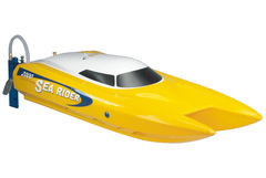 Joysway Offshore sea rider 2.4G RTR, red color and yellow color,  with 11.1V 2200mAh 35C LiPo T-Plug
