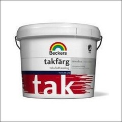 Краска для потолка BECKERS TAKFARG База С (Белый)