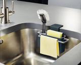 Органайзер для раковины на кухню на присосках Sink Aid™ навесной серый Joseph Joseph 85024   Купить в Москве, СПб и с доставкой по всей России   Интернет магазин www.Kitchen-Devices.ru