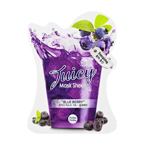 Holika Holika  Juicy Mask Sheet Blue Berry