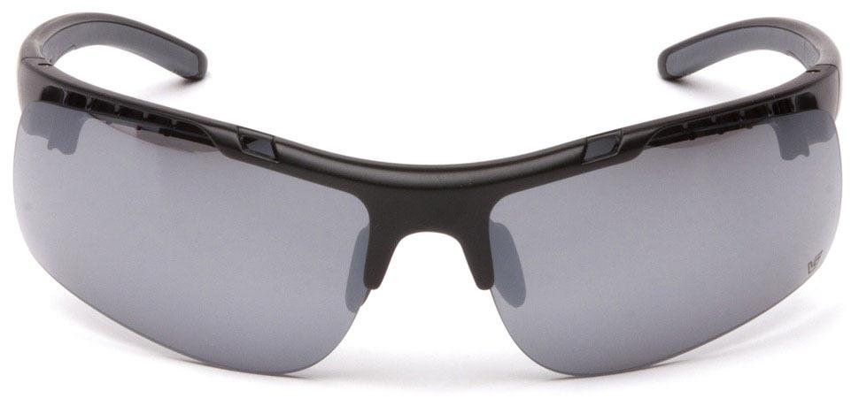 Очки баллистические стрелковые Pyramex Drone VGSB8370S Anti-fog зеркально-серые 23%