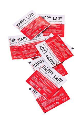 Набор из 10 пробников крема для усиления возбуждения у женщины Happy Lady
