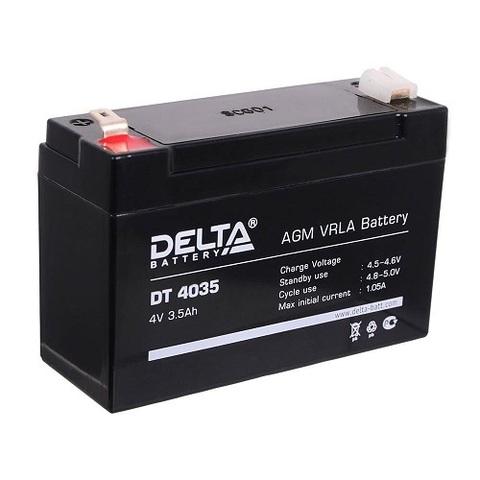 DT 4035 аккумулятор 4В/3.5Ач Delta