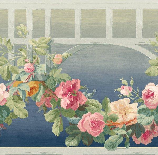 Бордюр KT Exclusive English Rose EN11062B, интернет магазин Волео