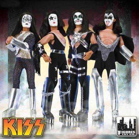Kiss Retro Action Figure