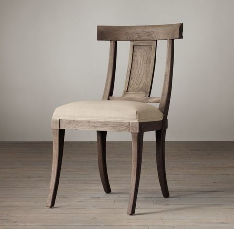 Klismos Fabric Side Chair