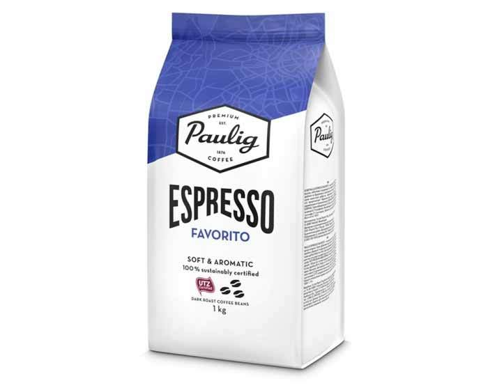 Paulig Espresso Favorito, 1 кг