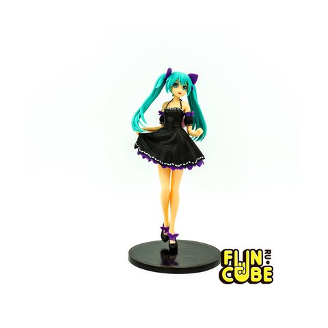 Миниатюра Hatsune Miku Black Dress 23см
