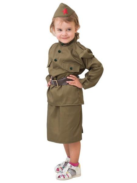 Военная форма для девочки Солдатка