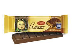 """Шоколад """"Алёнка"""" с вареной сгущенкой 48г"""