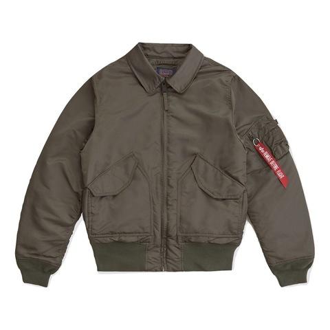 Куртка Alpha Industries CWU 45/P Slim Fit Replica Grey