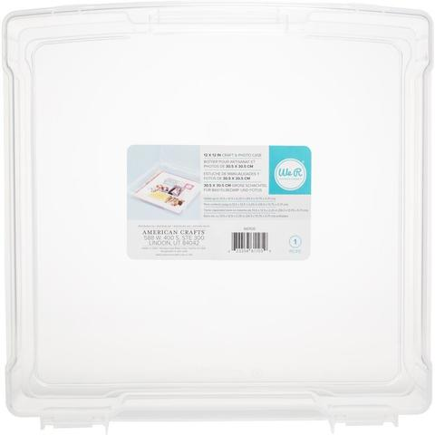 Органайзер We R Craft & Photo Translucent Plastic Storage 30 х30 см -Case