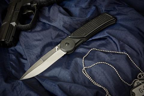 Складной нож Байкер-1 Х12МФ Полированный ABS