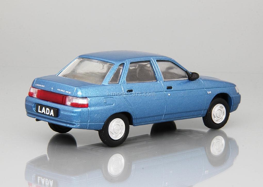 VAZ-2110 Lada 110 1995-2007 light blue 1:43 DeAgostini Auto Legends USSR #226
