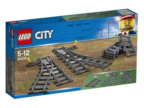 LEGO City: Железнодорожные стрелки 60238 — Switch Tracks — Лего Сити Город