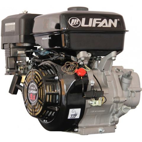Двигатель Lifan 177F-R, 9 л.с. понижающий редуктор, сцепление центробежное