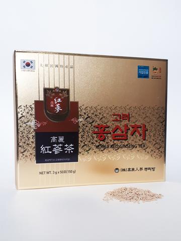 Напиток гранулированный с экстрактом Красного Женьшеня Red Ginseng Tea  50 пакетиков