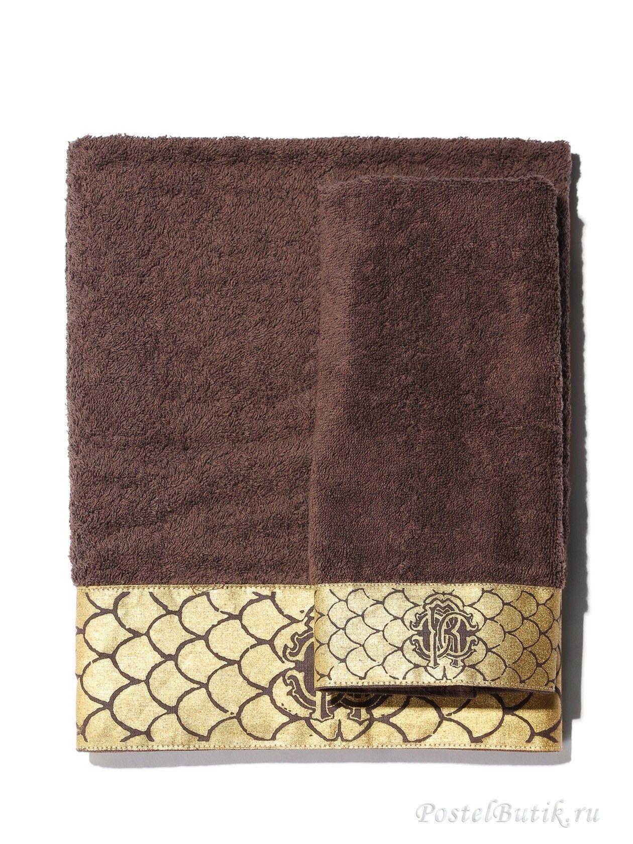 Наборы полотенец Набор полотенец 3 шт Roberto Cavalli Gold коричневый elitnie-polotentsa-gold-korichnevie-ot-roberto-cavalli-italiya.jpg