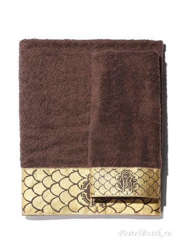 Набор полотенец 3 шт Roberto Cavalli Gold коричневый