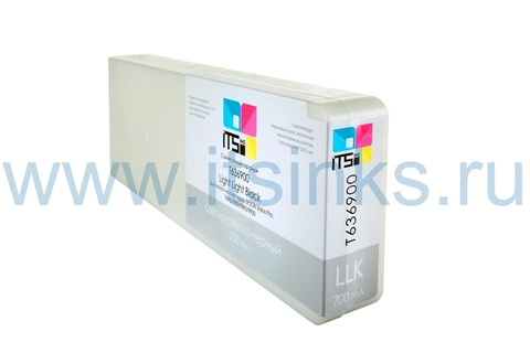 Картридж для Epson 7900/9900 C13T636900 Light Light Black 700мл