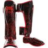 Защита ног Venum Fusion Red