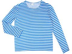 MF01-001 фуфайка мужская, бело-синяя