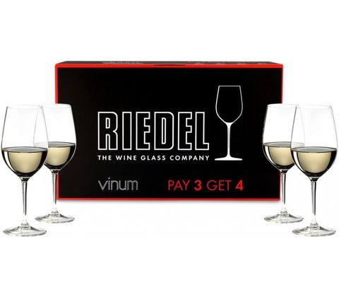 Riesling/Zinfandel Pay 3 Get 4