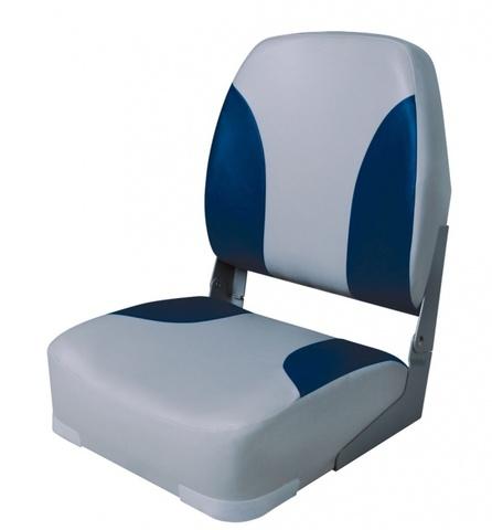 Кресло Classic Highback Seat - серый/синий
