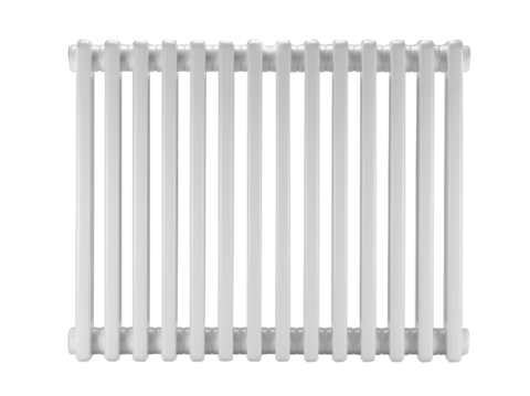 Стальной трубчатый радиатор DiaNorm Delta Complet 2280, 5 секций, подкл. VLO, RAL 9001