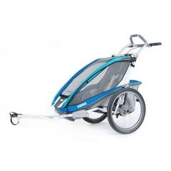 Многофункциональная детская коляска, Thule, Chariot CX1 + ПОДАРОК