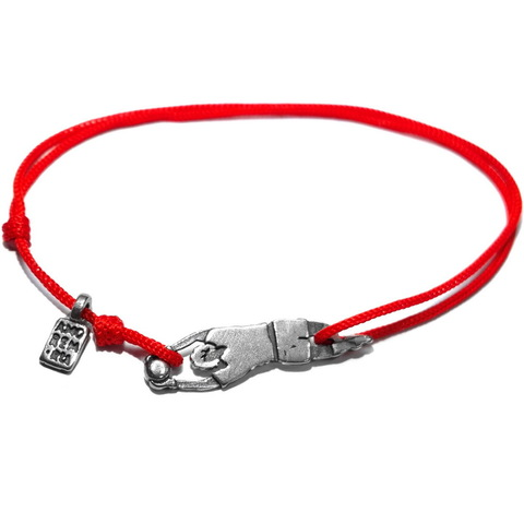 Goalkeeper Bracelet, sterling silver