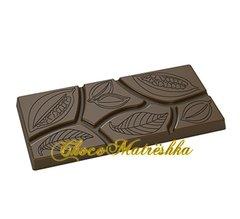 Форма поликарбонатная для шоколада - Плитка Какао-дольки