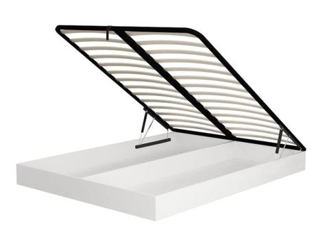 Короб  с подъемным механизм который вставляется в кровать вместо основания