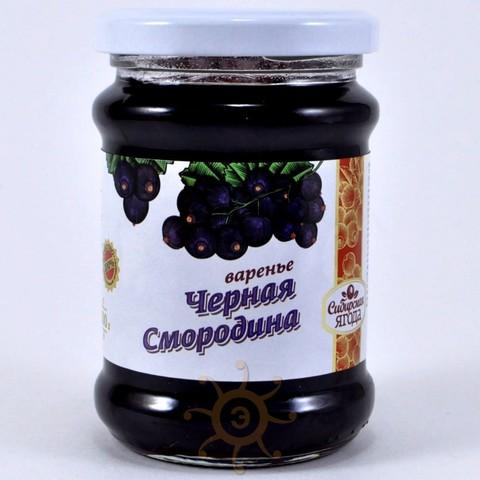 Варенье из смородины черной Ягода сибирская, 300г