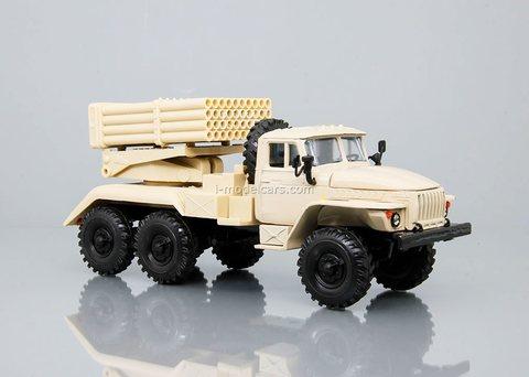 Ural-4320 BM-21 Grad beige Elecon 1:43