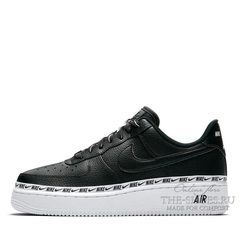 Кроссовки мужские Nike Air Force 1 Low '07 LV8 Premium BLack White