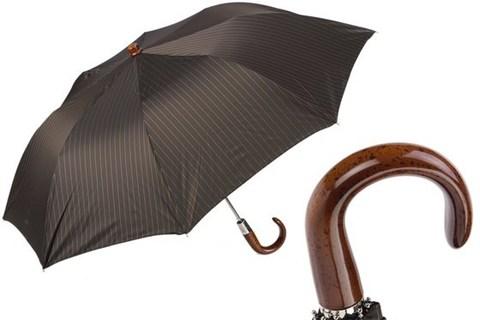 Зонт складной Pasotti Classic Folding Umbrella, Италия.