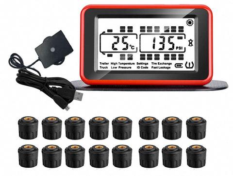 Система контроля давления в шинах TP900SE16-34 для грузовиков с прицепом (до 34 колес)