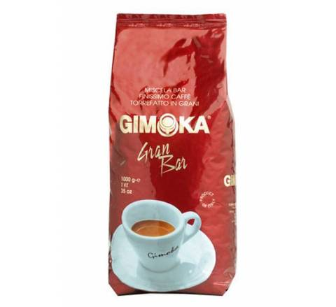 Кофе в зернах Gimoka Gran Bar (Гран Бар) 1 кг.
