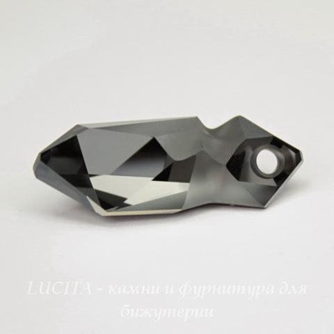 6913 Подвеска Сваровски Kaputt Crystal Silver Night (28 мм)