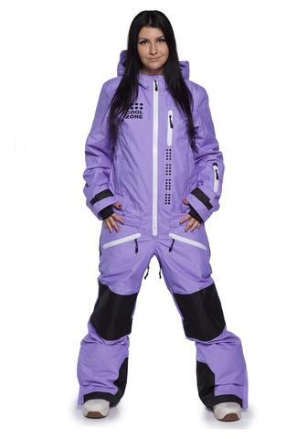 COOL ZONE KITE сноубордический комбинезон женский фиолетовый