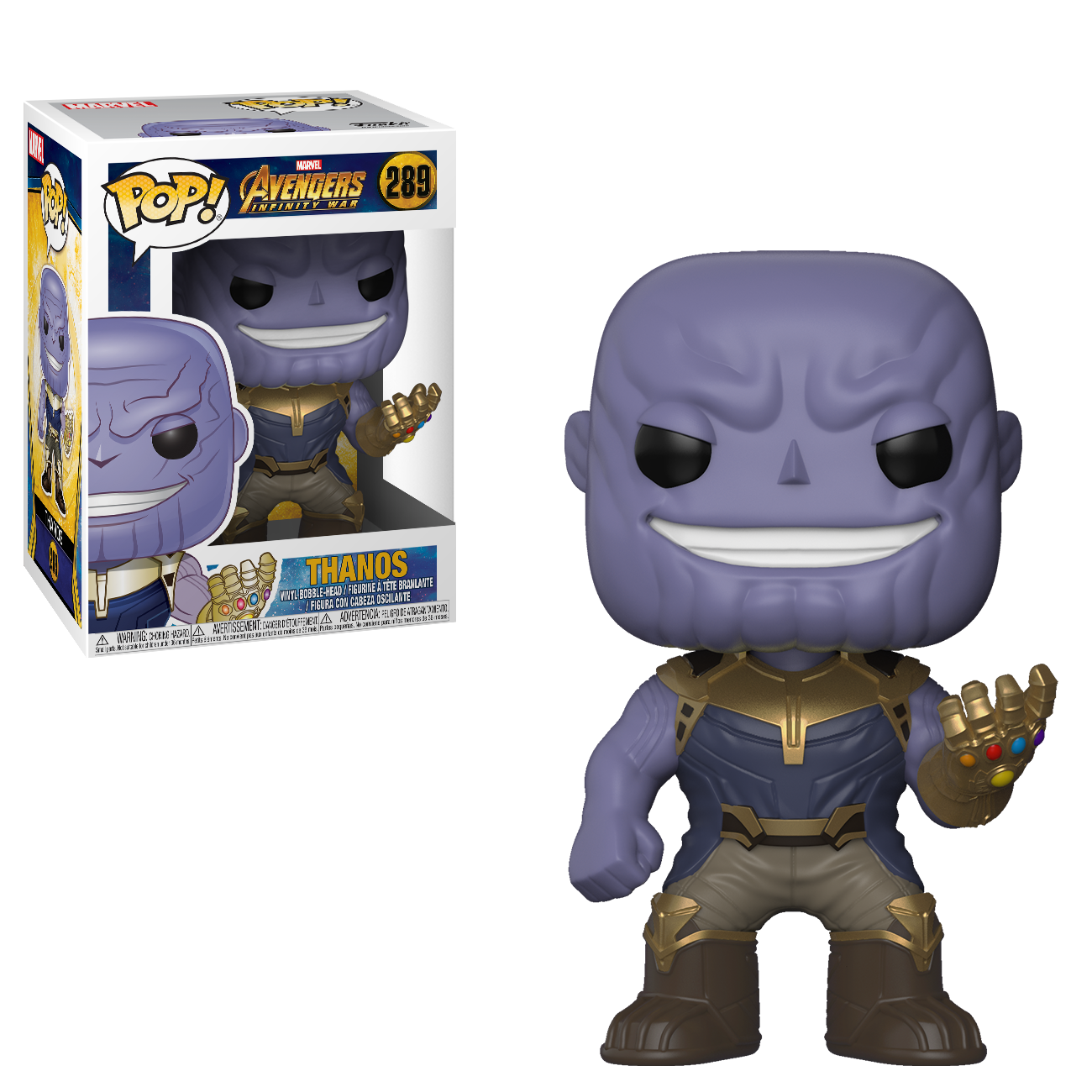 Фигурка Funko POP! Bobble: Marvel: Avengers Infinity War: Thanos 26467