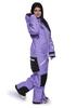 Женский утепленный сноубордический комбинезон Cool Zone Kite 31К32М фиолетовый