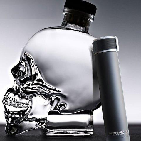 Мини-термос Asobu Skinny mini (0,23 литра) черный*