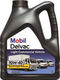 Mobil Delvac Light Commercial Vehicle 10w40 (4л) Полусинтетическое моторное масло для легких грузовиков