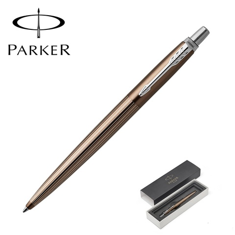 1953201 Parker Jotter Premium Carlisle Brown Pinstripe CT Шариковая ручка