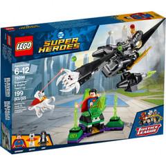 Super Heroes Супермен и Крипто объединяют усилия 76096